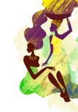 Mulheres africanas Imagens de Stock