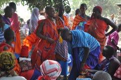Mulheres africanas coloridas Fotos de Stock