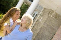 Mulheres ao ar livre Imagens de Stock