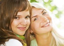 Mulheres ao ar livre Fotografia de Stock