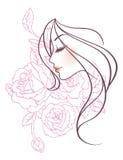 Mulheres bonitas ilustração do vetor