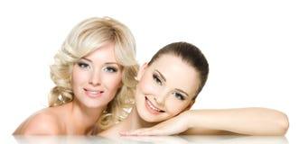 Mulheres bonitas Fotografia de Stock