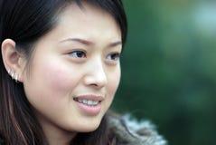 Mulheres bonitas com olhos charming Foto de Stock Royalty Free