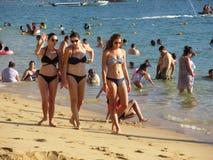 Mulheres bonitas de Acapulco imagens de stock royalty free