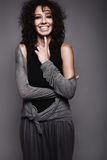 Mulheres bonitas de riso Imagem de Stock Royalty Free
