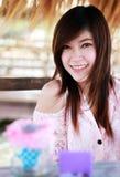 Mulheres bonitas de Tailândia Foto de Stock