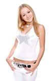 Mulheres bonitas em uma camisa Fotografia de Stock