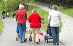 Mulheres com crianças Imagem de Stock Royalty Free
