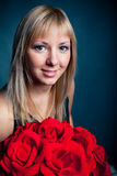 Mulheres com ramalhete Imagens de Stock Royalty Free