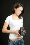 Mulheres da beleza Imagens de Stock