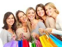 Mulheres da compra imagens de stock royalty free