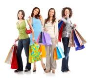 Mulheres da compra imagens de stock