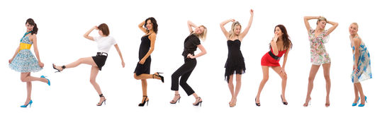 Mulheres da forma Fotografia de Stock Royalty Free