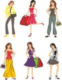 Mulheres da forma Imagens de Stock Royalty Free