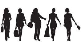 Mulheres da forma ilustração stock