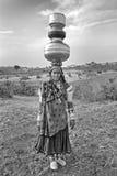 Mulheres de Banjara em India Foto de Stock