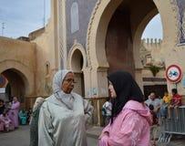 Mulheres de fala Fotos de Stock Royalty Free