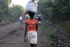 Mulheres de Haiti fotografia de stock