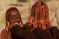 Mulheres de Himba Fotos de Stock Royalty Free