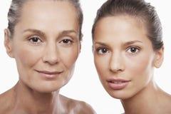 Mulheres de idades diferentes Imagens de Stock Royalty Free