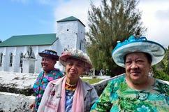 Mulheres de Islanders do cozinheiro Fotos de Stock