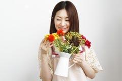 Mulheres de jardinagem Imagens de Stock