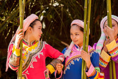 Mulheres de Lahu Fotografia de Stock