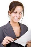 Mulheres de negócio Foto de Stock