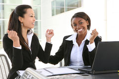 Mulheres de negócio diversas Foto de Stock Royalty Free