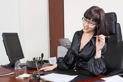 Mulheres de negócio felizes Fotos de Stock