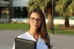 Mulheres de negócio felizes - imagem conservada em estoque Imagens de Stock