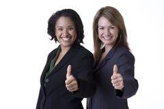 Mulheres de negócios bem sucedidas Imagem de Stock Royalty Free