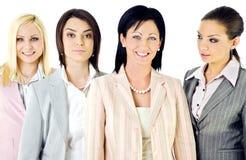 Mulheres de negócios da equipe Fotografia de Stock