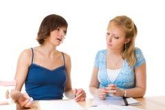 Mulheres de negócios novas Fotos de Stock