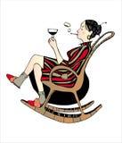Mulheres de relaxamento Imagens de Stock