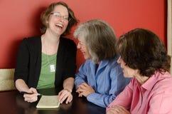 Mulheres de riso Imagem de Stock