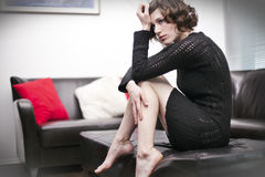 Mulheres deprimidas Imagens de Stock Royalty Free
