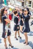 Mulheres do asian da forma Fotografia de Stock Royalty Free