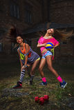 Mulheres do esporte Foto de Stock Royalty Free