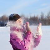 Mulheres do inverno Fotografia de Stock Royalty Free