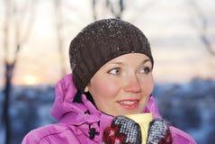 Mulheres do inverno Fotografia de Stock