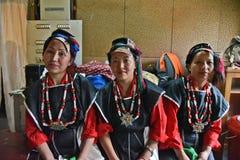 Mulheres do monte da Índia imagem de stock
