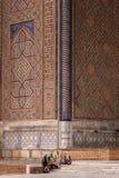 Mulheres do Uzbeque em Samarkand foto de stock royalty free