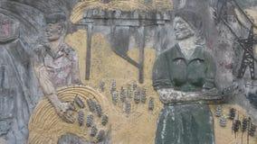 Mulheres dos trabalhadores do russo fotografia de stock royalty free