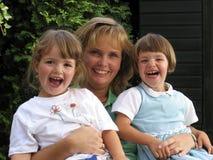 Mulheres e gêmeos (a) Fotografia de Stock Royalty Free