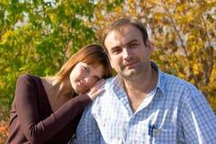 Mulheres e homens Fotografia de Stock