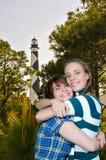 Mulheres em férias fotos de stock royalty free