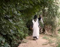 Mulheres em Marrocos Imagem de Stock Royalty Free