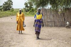 Mulheres em Sudão sul Imagens de Stock
