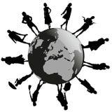 Mulheres em todo o mundo Imagem de Stock